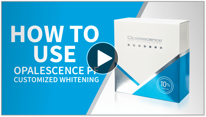 How to use Opalescence PF video